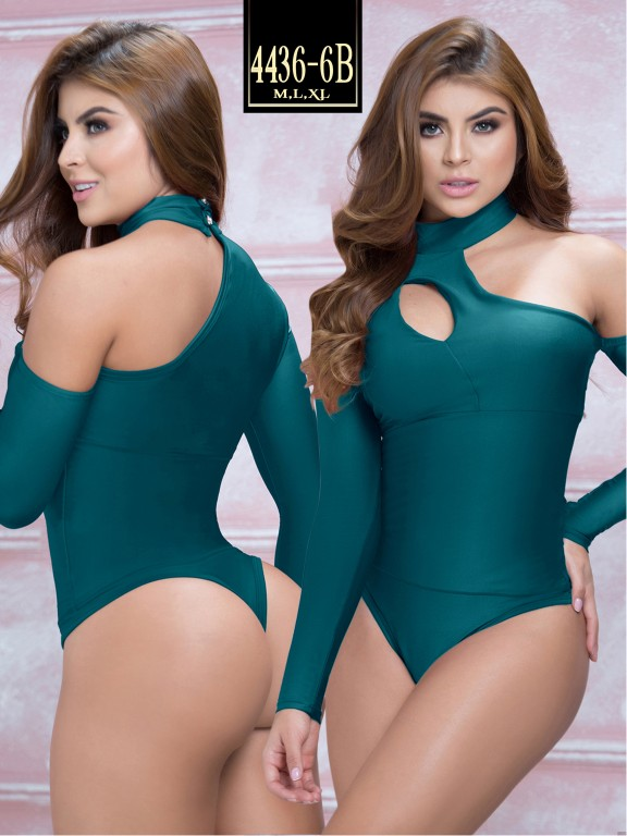 Body Reductor Colombiano Capellini  - Ref. 114 -4436-6 Verde