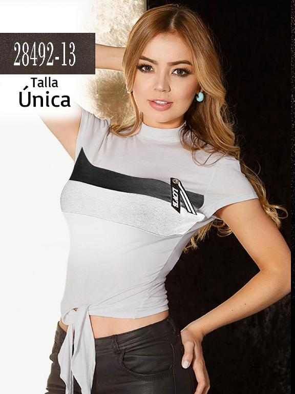 Blusa Colombiana - Ref. 266 -28492-13 Gris