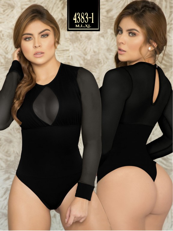 Body Reductor Colombiano Capellini  - Ref. 114 -4383-1 Negro