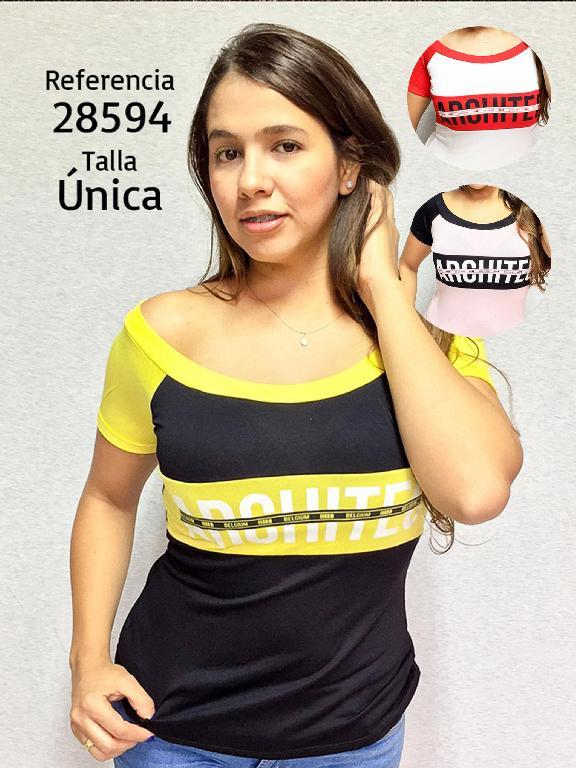 Blusa Colombiana - Ref. 266 -28594-15 Amarillo