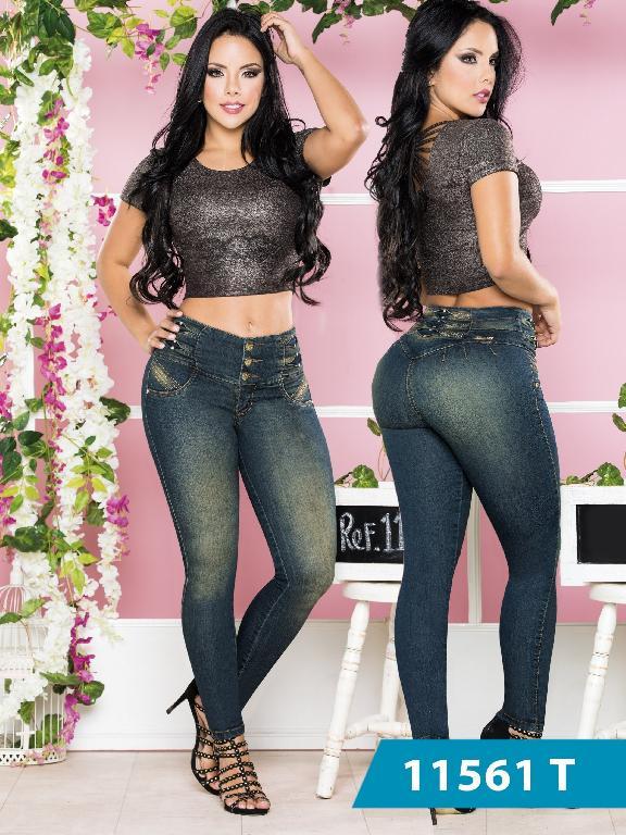 Jeans Levantacola Colombiano Tabbachi  - Ref. 101 -11561 T