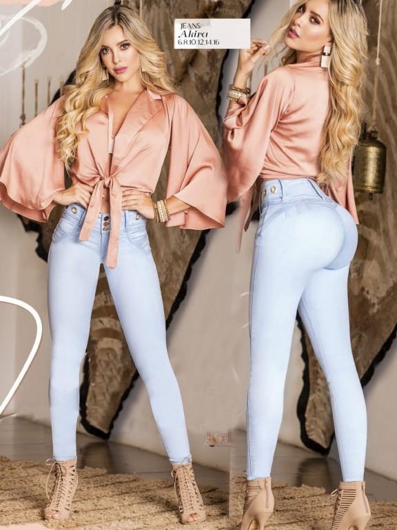 Jeans Levantacola Colombiano  - Ref. 119 -Akira