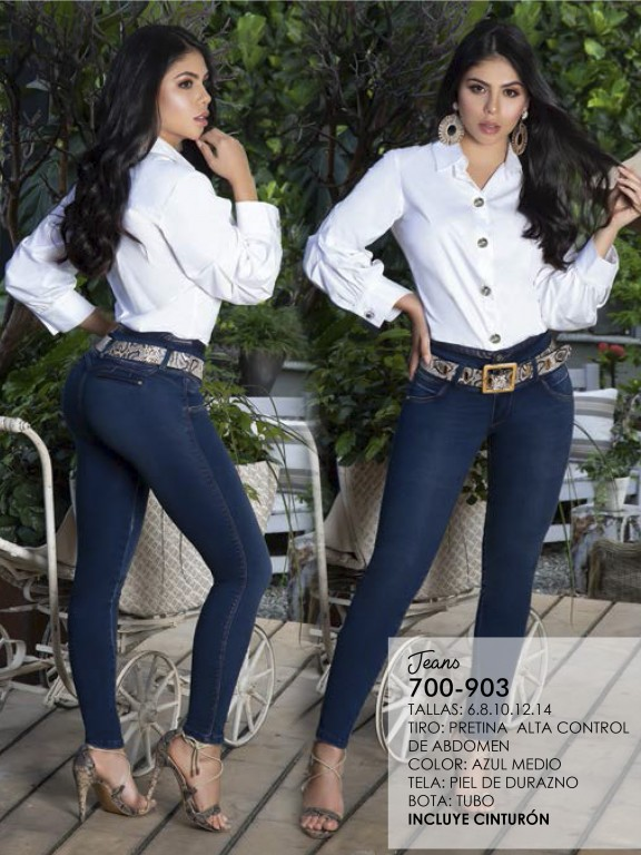 Jeans Levantacola Colombiano - Ref. 287 -0903
