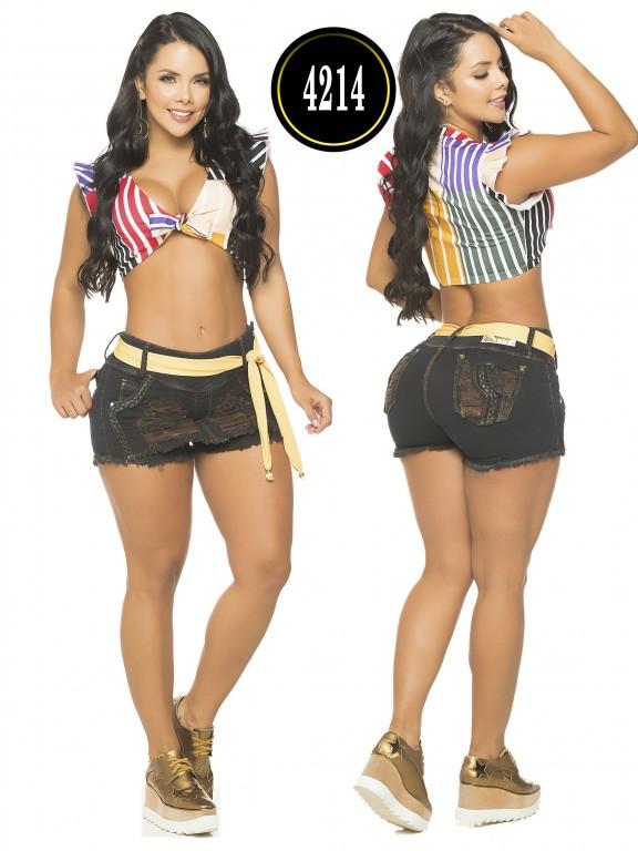 Colombian Butt Lifting Short - Ref. 119 -4214CK