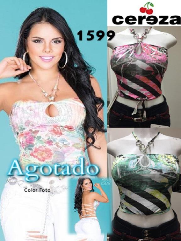 Blusa Moda Cereza - Ref. 111 -1599