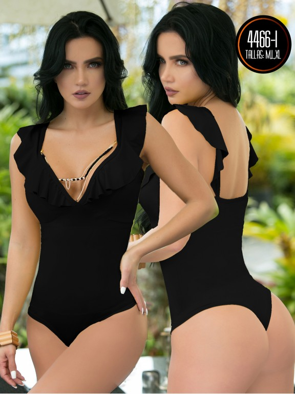 Body Reductor Colombiano Capellini  - Ref. 114 -4466-1 Negro