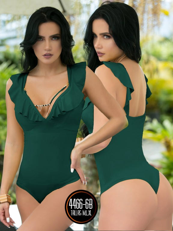 Body Reductor Colombiano Capellini  - Ref. 114 -4466-6 Verde