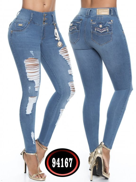 Jeans Colombiano - Ref. 248 -94167-D