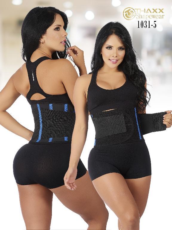 Faja Cinturilla  Moda Colombiana Thaxx - Ref. 119 -1031-5 Azul