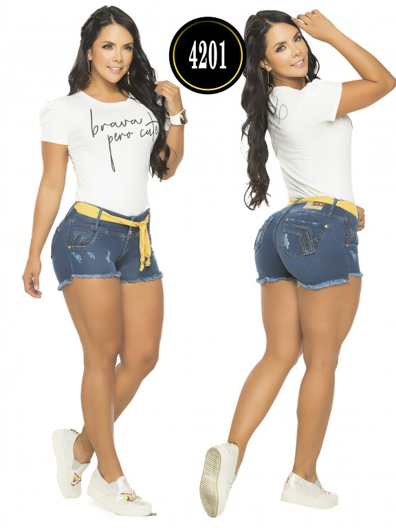 Colombian Butt Lifting Shorts - Ref. 119 -4201CK