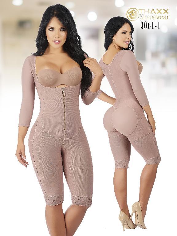 Faja Moda Colombiana Thaxx - Ref. 119 -3061-1 Cocoa Plus