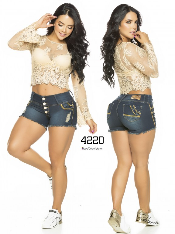 Colombian Butt Lifting Shorts - Ref. 119 -4220CK