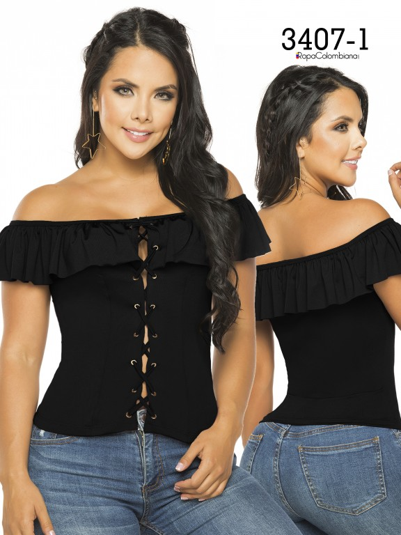 Colombian Fashion Blouse - Ref. 119 -3407-1