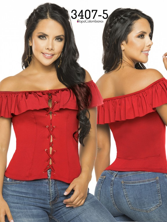Colombian Fashion Blouse - Ref. 119 -3407-5