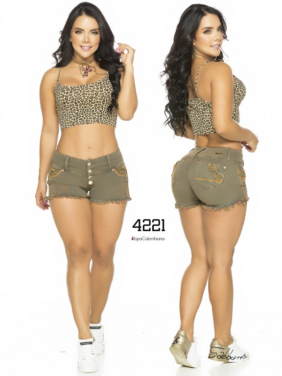 Colombian Butt Lifting Shorts - Ref. 119 -4221CK