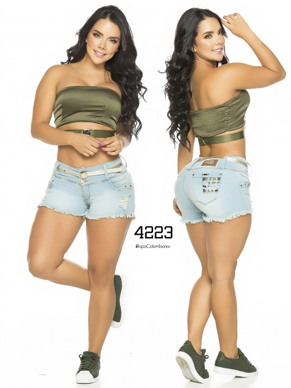 Colombian Butt Lifting Shorts - Ref. 119 -4223CK