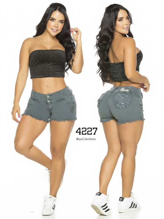 Colombian Butt Lifting Shorts - Ref. 119 -4227CK