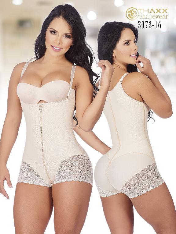 Faja Moda Colombiana Thaxx - Ref. 119 -3073-16 Beige Plus