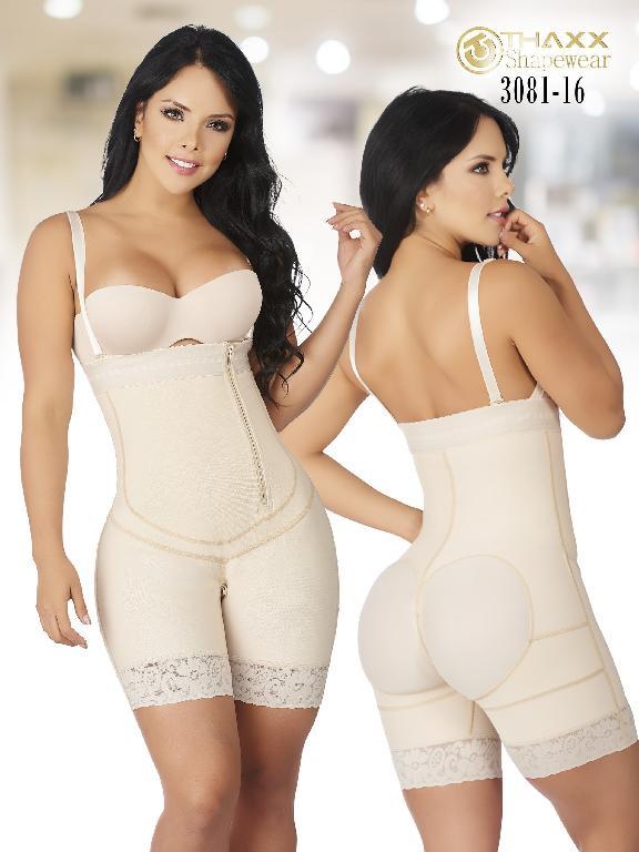 Faja Moda Colombiana Thaxx - Ref. 119 -3081 16 Beige Puls