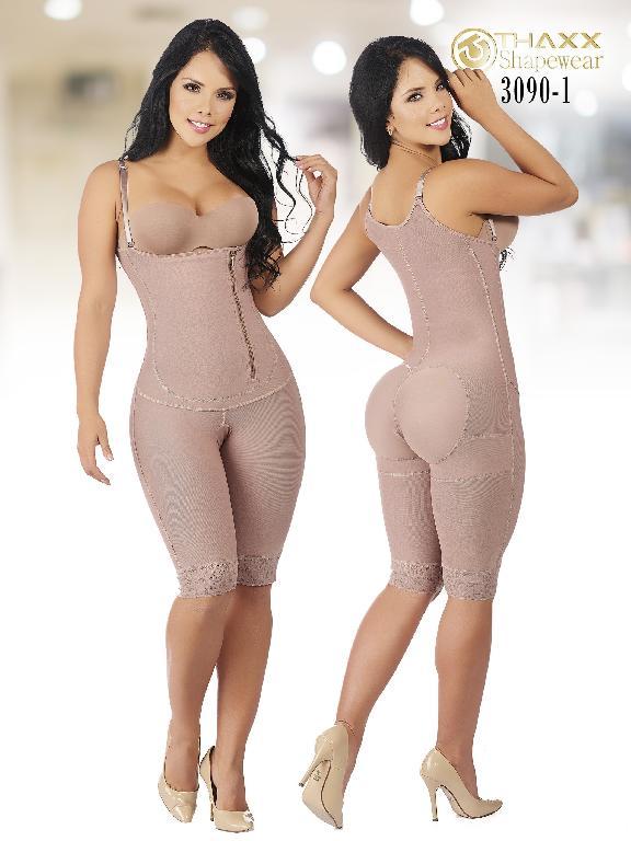 Faja Moda Colombiana Thaxx - Ref. 119 -3090-1 Cocoa Plus