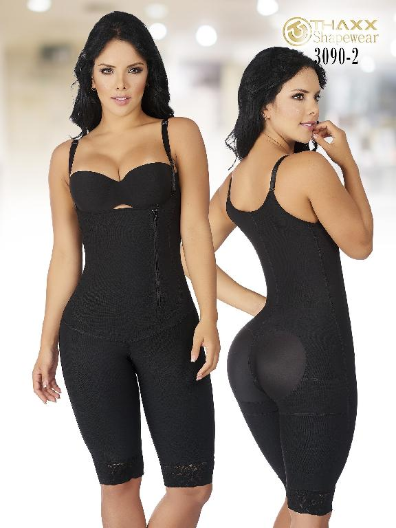 Faja Moda Colombiana Thaxx - Ref. 119 -3090-2 Negro Plus