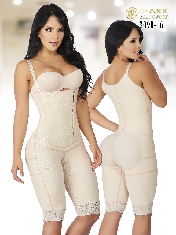 Faja Moda Colombiana Thaxx - Ref. 119 -3090-16 Beige  Plus