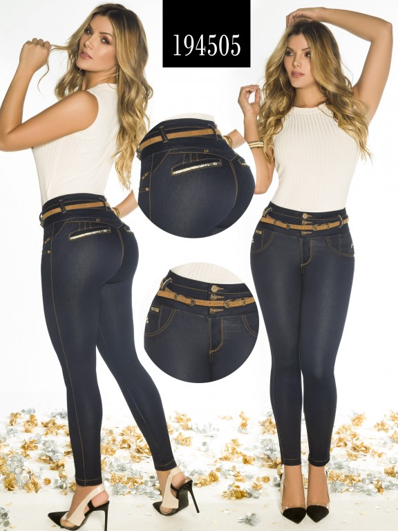 Jeans Levantacola Colombiano - Ref. 270 -194505