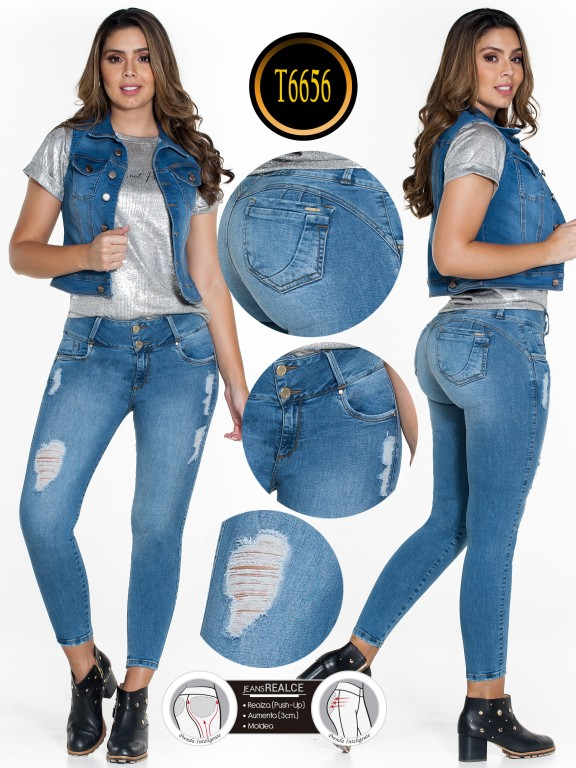 Jeans Colombiano  - Ref. 278 -6656