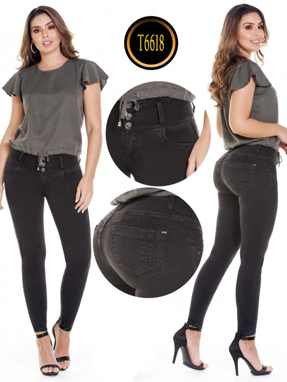 Jeans Colombiano  - Ref. 278 -6618