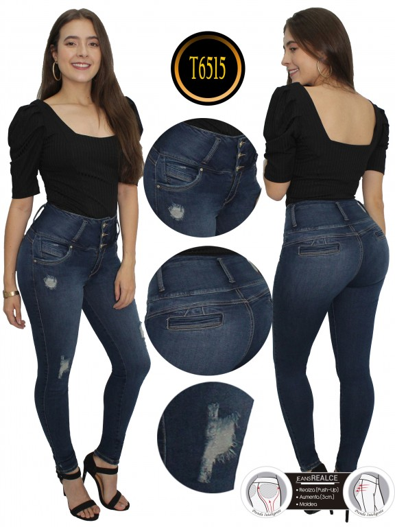 Jeans Colombiano  - Ref. 278 -6515