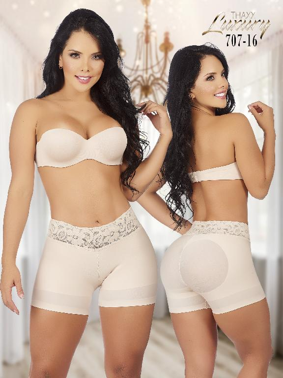 Short Smart Secret Low Waist - Ref. 119 -707-16 Beige