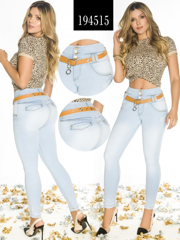 Jeans Levantacola Colombiano - Ref. 270 -194515