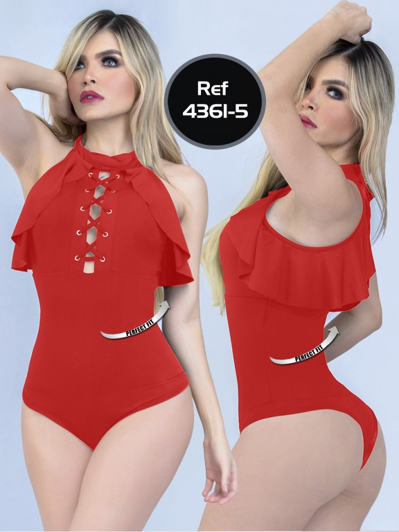 Body Reductor Colombiano Capellini  - Ref. 114 -4361-5 Rojo