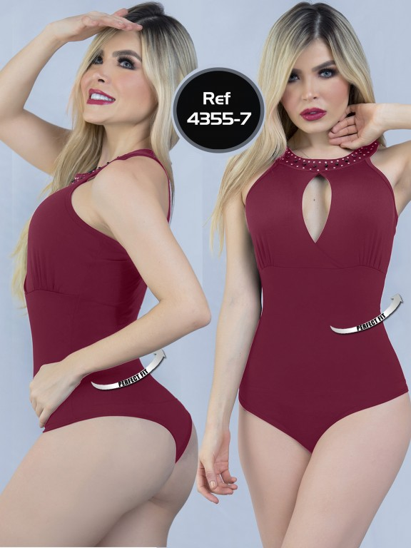 Body Reductor Colombiano Capellini  - Ref. 114 -4355-7 Vino