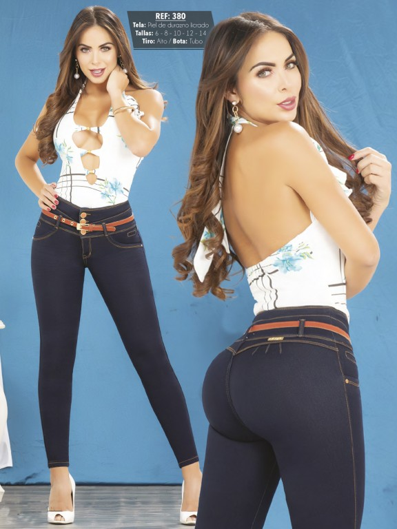 Colombian Butt lifting Jean - Ref. 119 -380