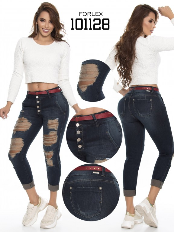 Jeans Levantacola Colombiano - Ref. 294 -101128
