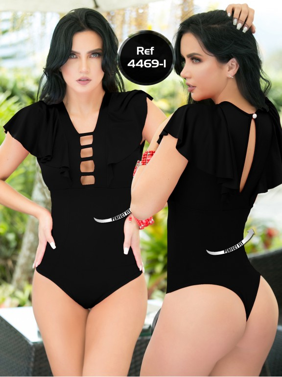 Body Reductor Colombiano Capellini  - Ref. 114 -4469-1 Negro