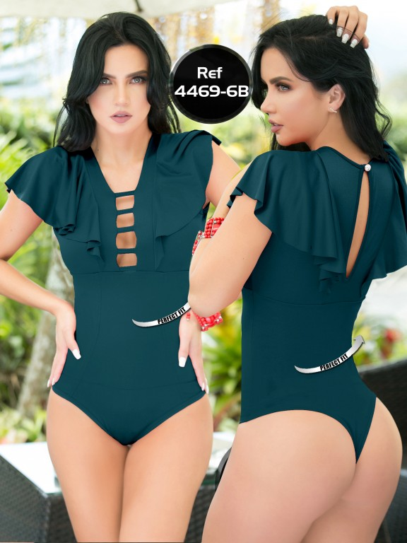 Body Reductor Colombiano Capellini  - Ref. 114 -4469-6 Verde