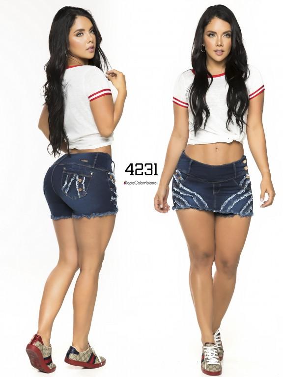 Colombian Butt Lifting Short - Ref. 119 -4231CK