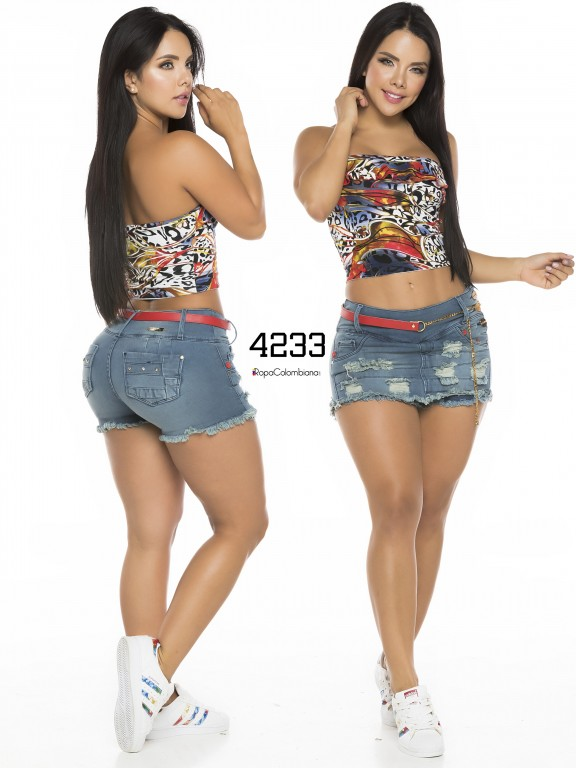 Colombian Butt Lifting Short - Ref. 119 -4233CK