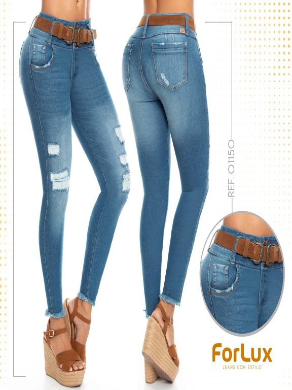 Jeans Levantacola Colombiano - Ref. 294 -1150