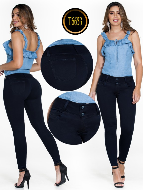 Jeans Colombiano  - Ref. 278 -6653