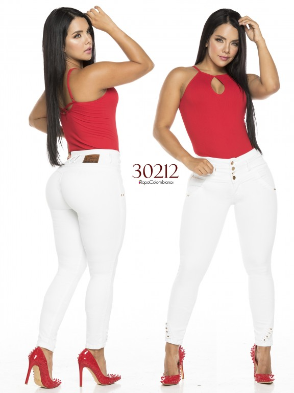 Colombian Butt lifting Jeans - Ref. 119 -30212TE
