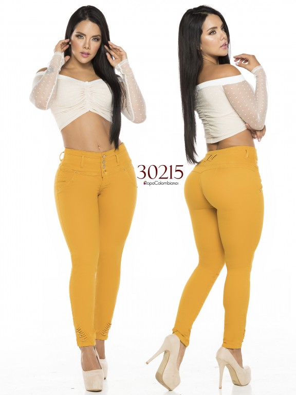 Colombian Butt lifting Jeans - Ref. 119 -30215TE