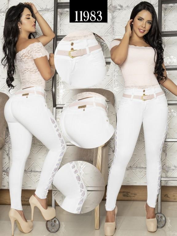 Jeans Colombiano Cheviotto - Ref. 101 -11983