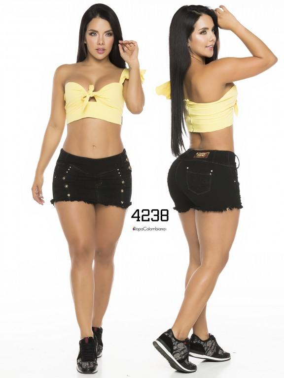 Falda Short Levantacola Colombiano - Ref. 119 -4238CK