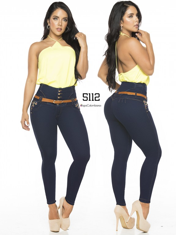 Colombian Butt lifting Jean - Ref. 119 -5112-S