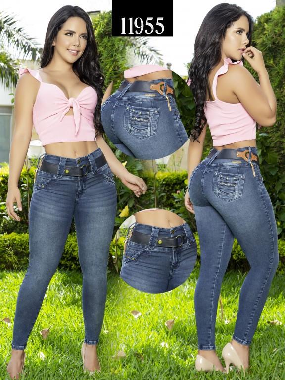 Jeans Colombiano Cheviotto - Ref. 101 -11955