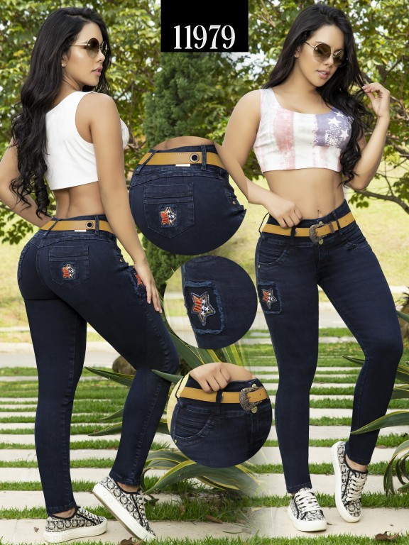 Jeans Colombiano Cheviotto - Ref. 101 -11979