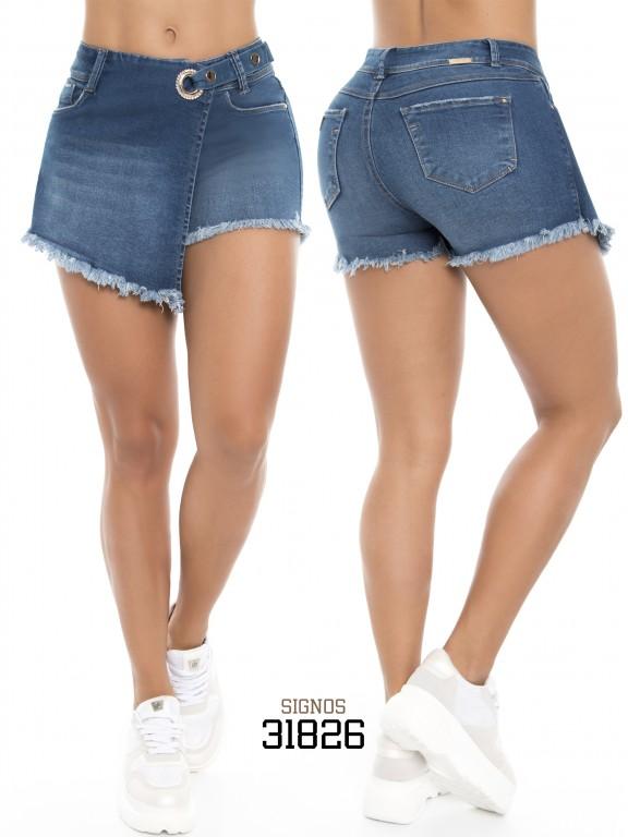 Falda Short Signos - Ref. 296 -31826 Falda Short Signos